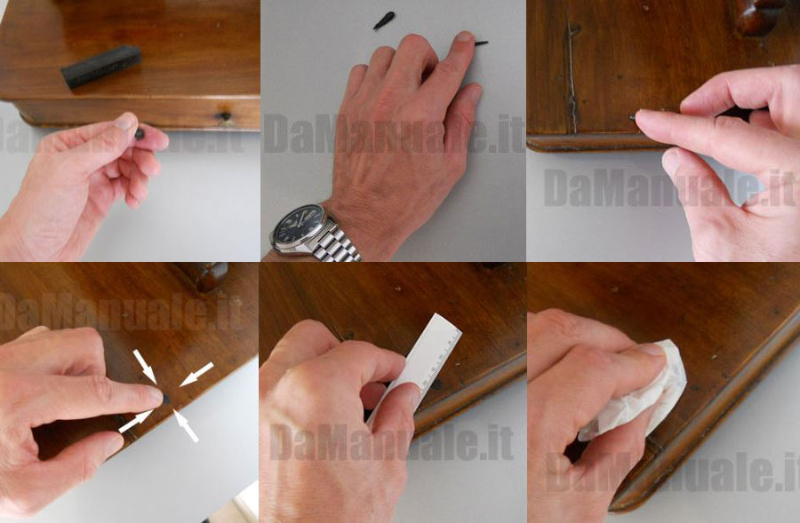 How To Fill Woodworm Holes In Furniture