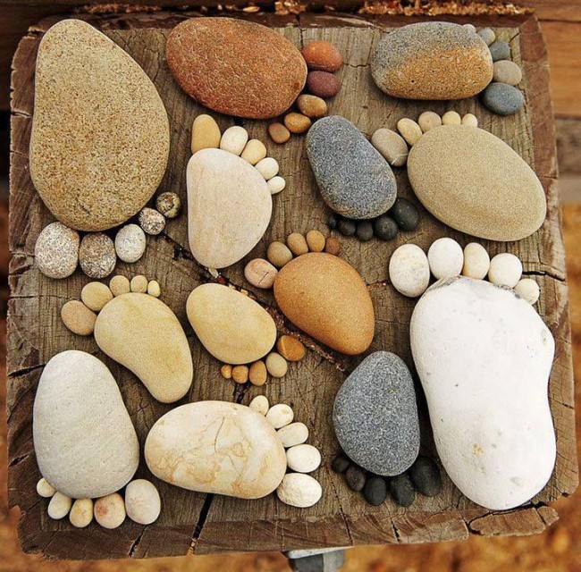 PEBBLE ART - So Simple Even Your Kids Can Do It