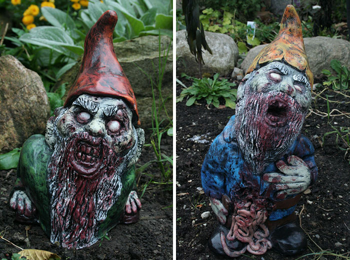 Horror Garden Gnomes: the scariest gnomes you've ever seen