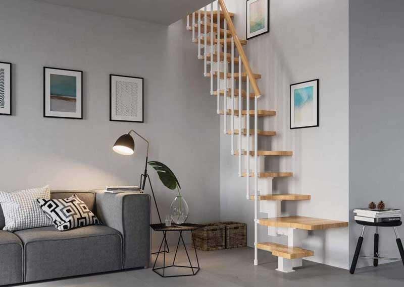 Space Saving Stairs For Your House