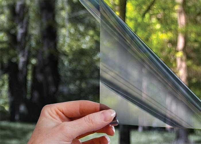 How to darken windows with solar films