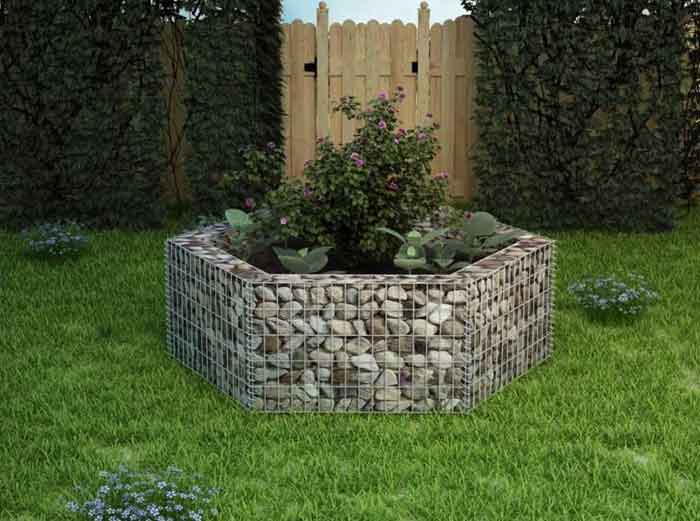 Why you should build a gabion wall in your garden: pros and cons