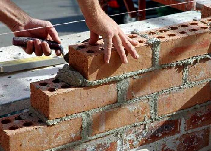 How to prepare cement mortar for masonry